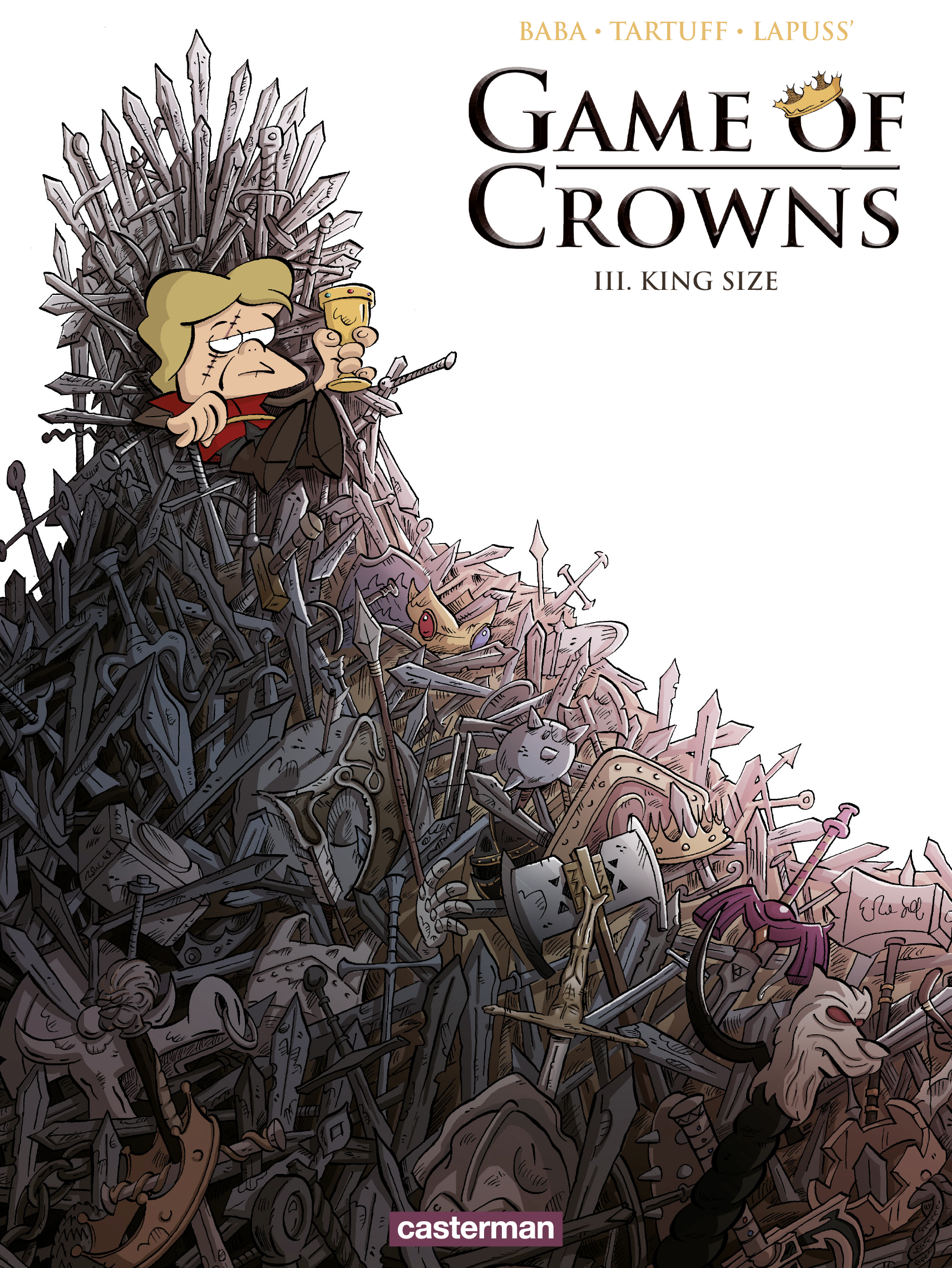 Vignette du livre Game of Crowns T.3 : King size