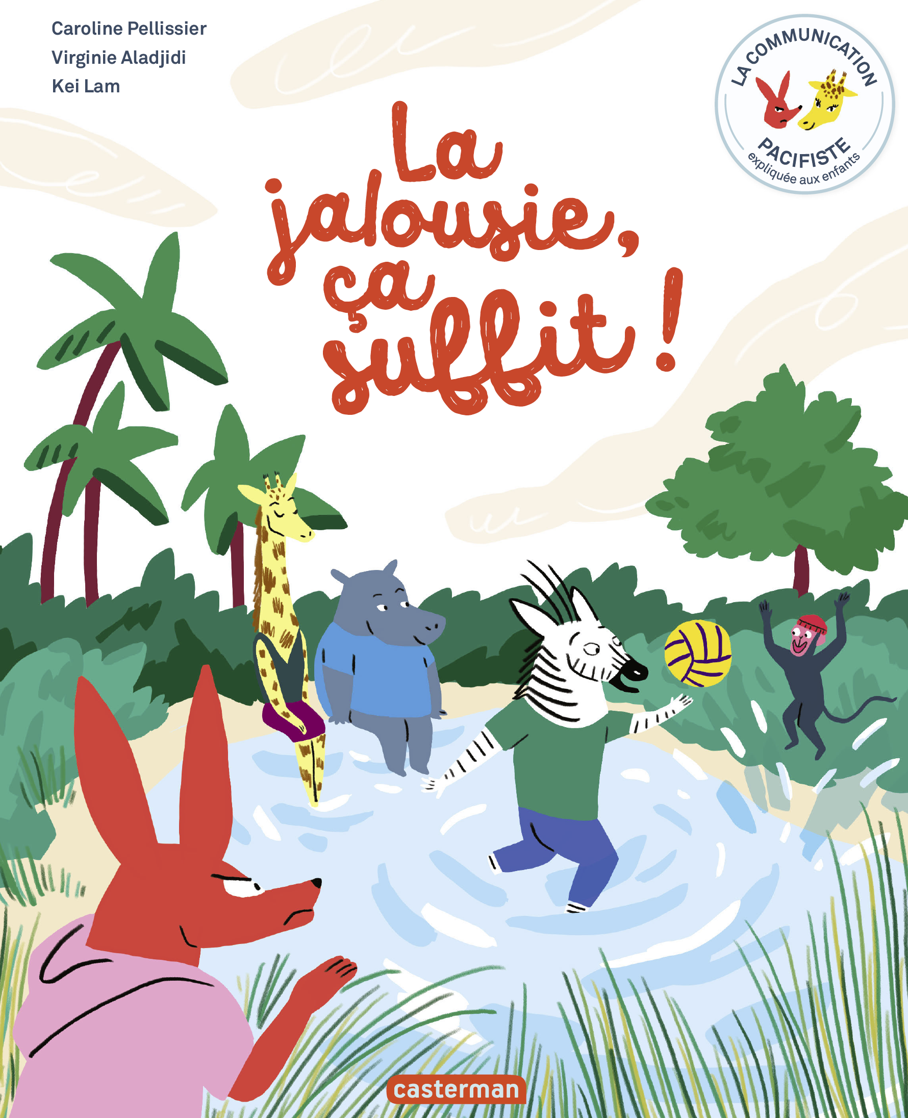 Vignette du livre La jalousie, ça suffit !