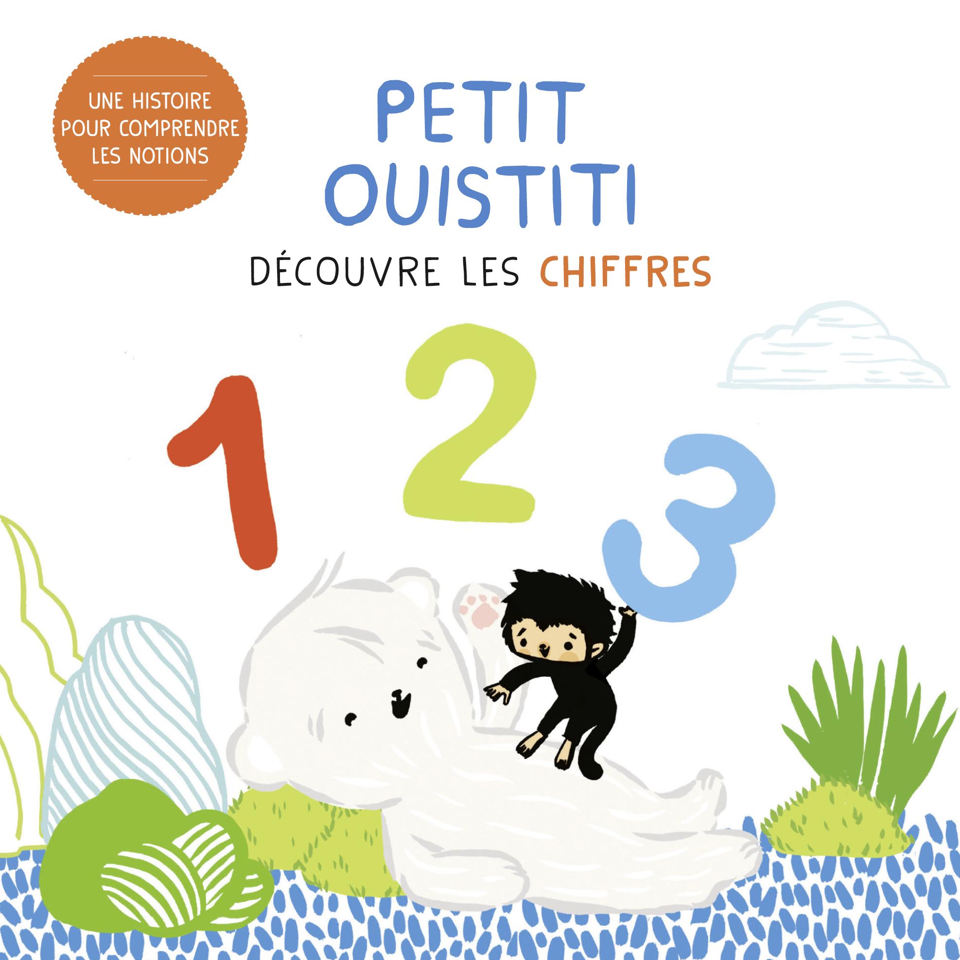 Vignette du livre Petit ouistiti découvre les chiffres