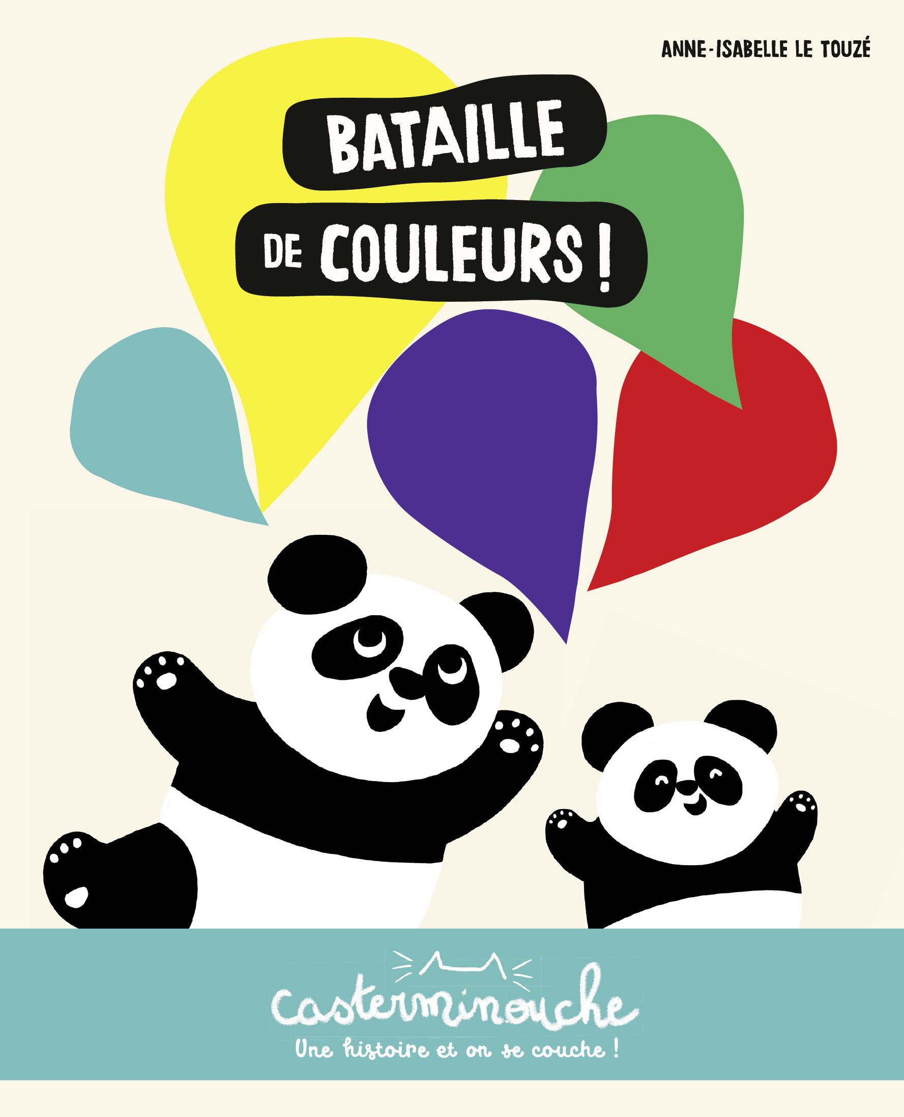 Vignette du livre Bataille de couleurs!