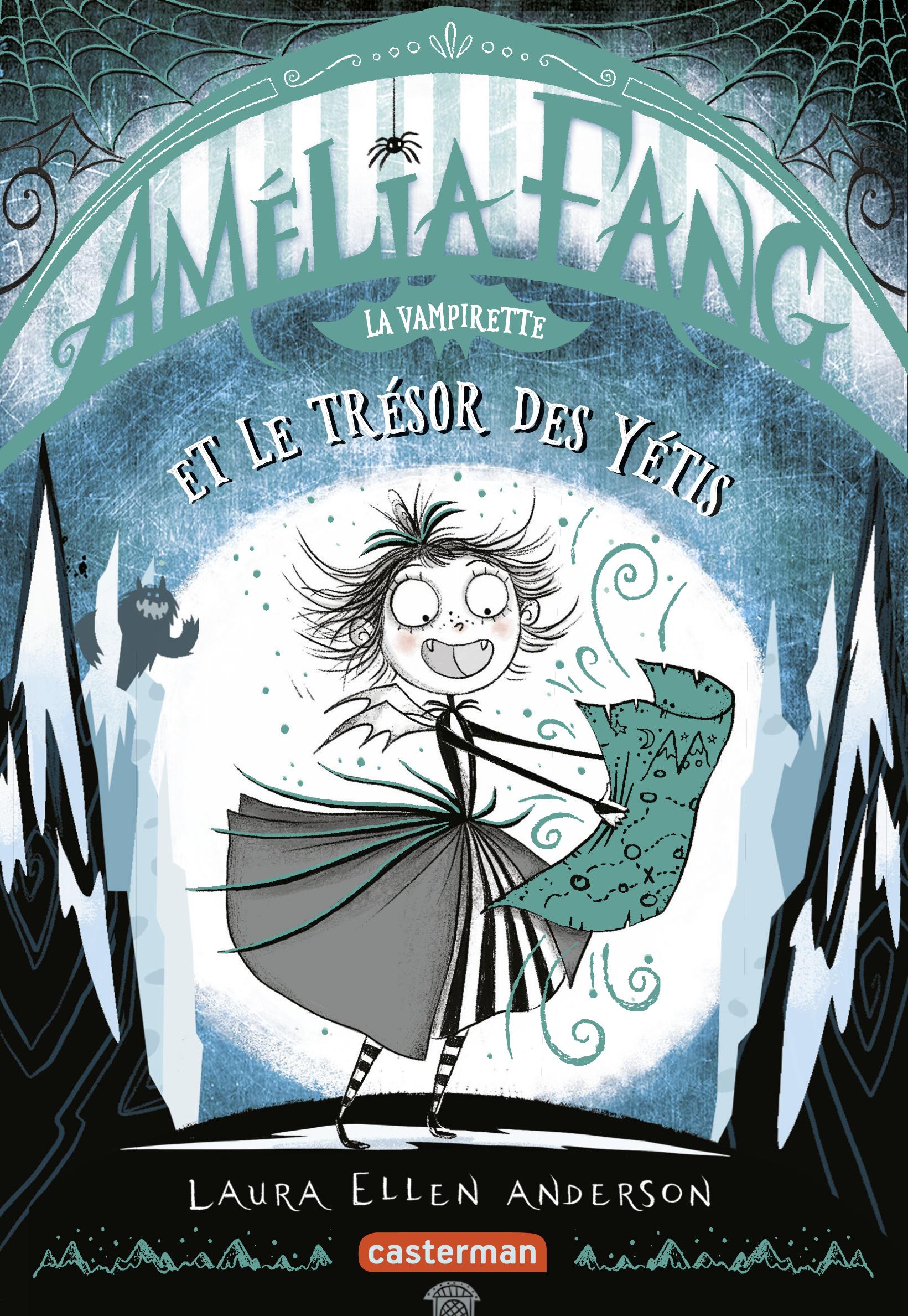 Vignette du livre Amélia Fang T.5 : Amélia Fang la vampirette et le trésor du yéti