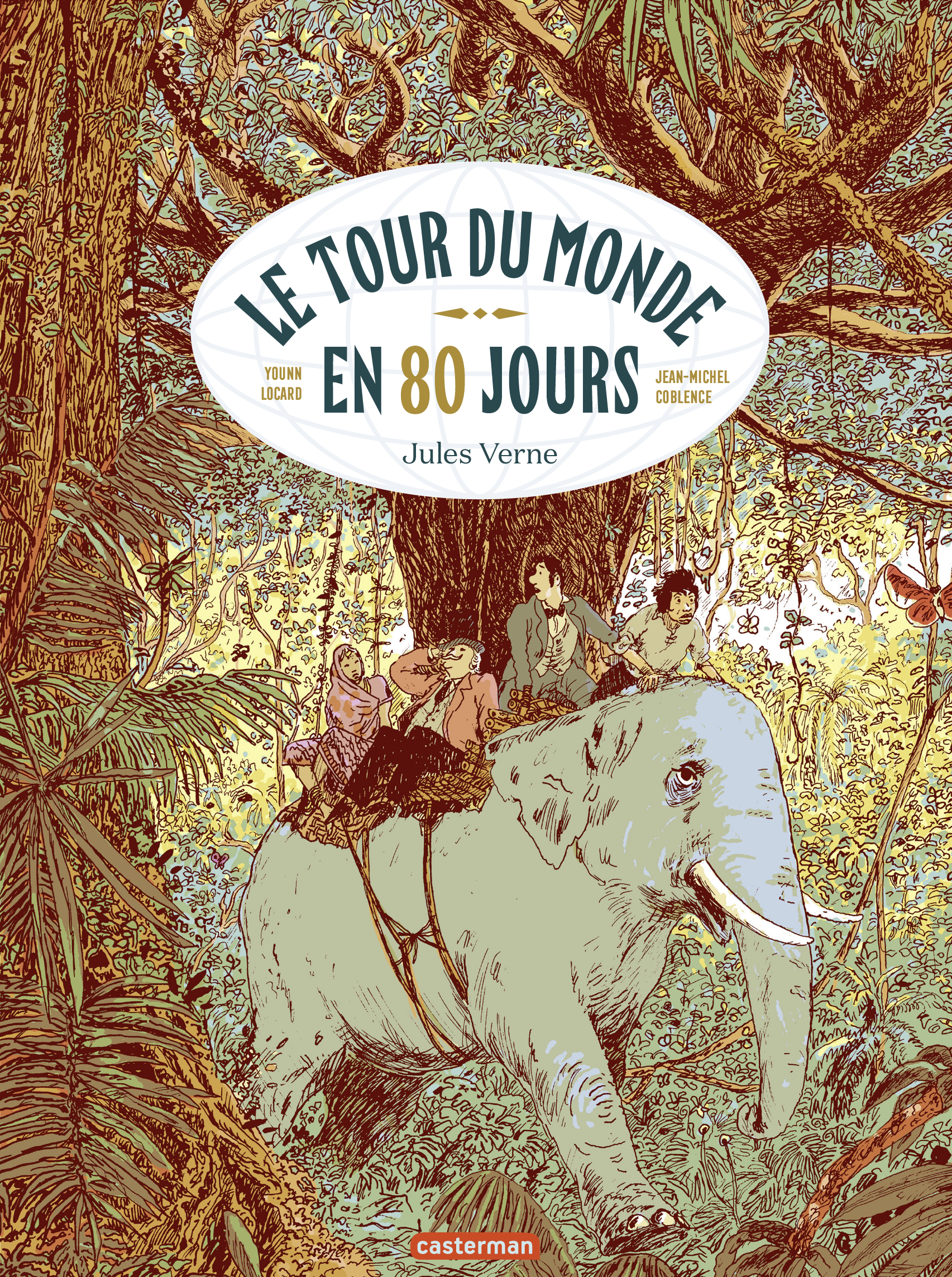 Vignette du livre Le tour du monde en 80 jours