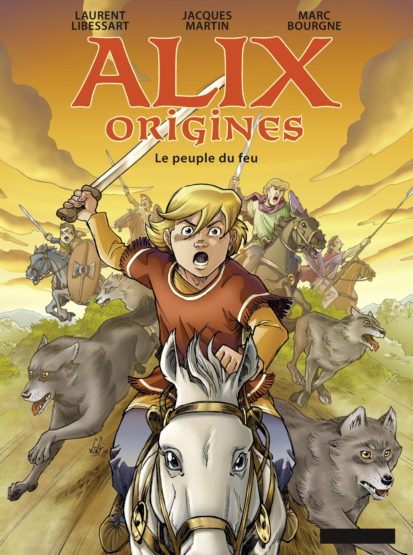 Vignette du livre Alix origines T.2: Le peuple du feu