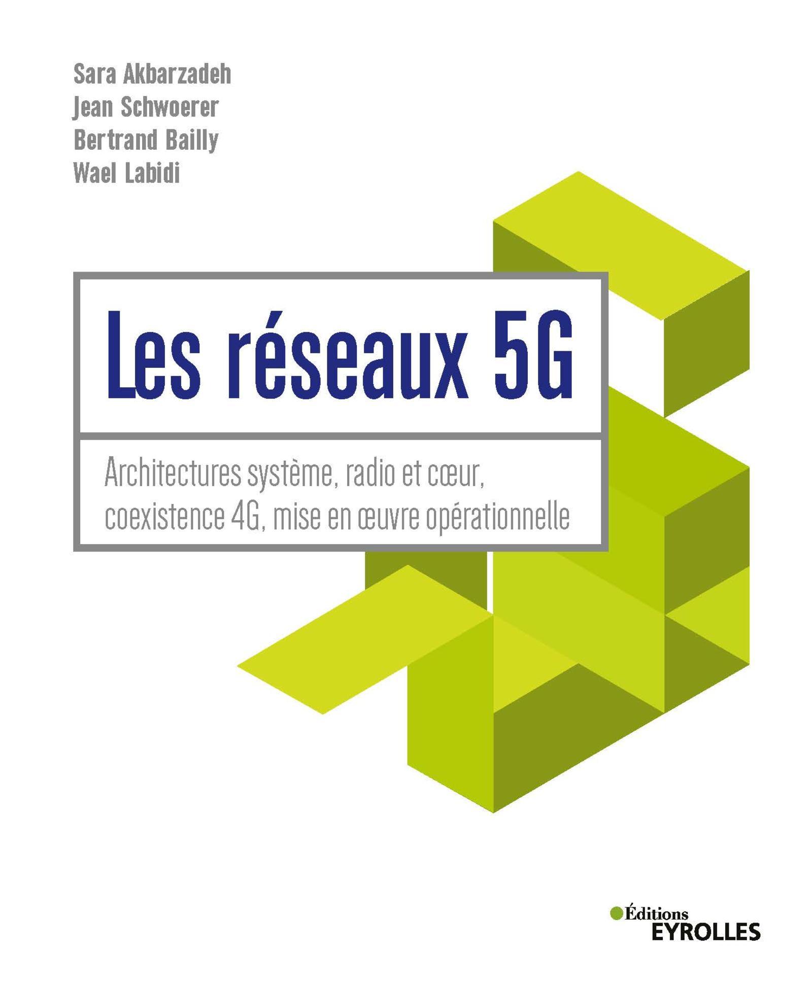Vignette du livre Les réseaux 5G: domotique, automobile, ville connectée, santé...