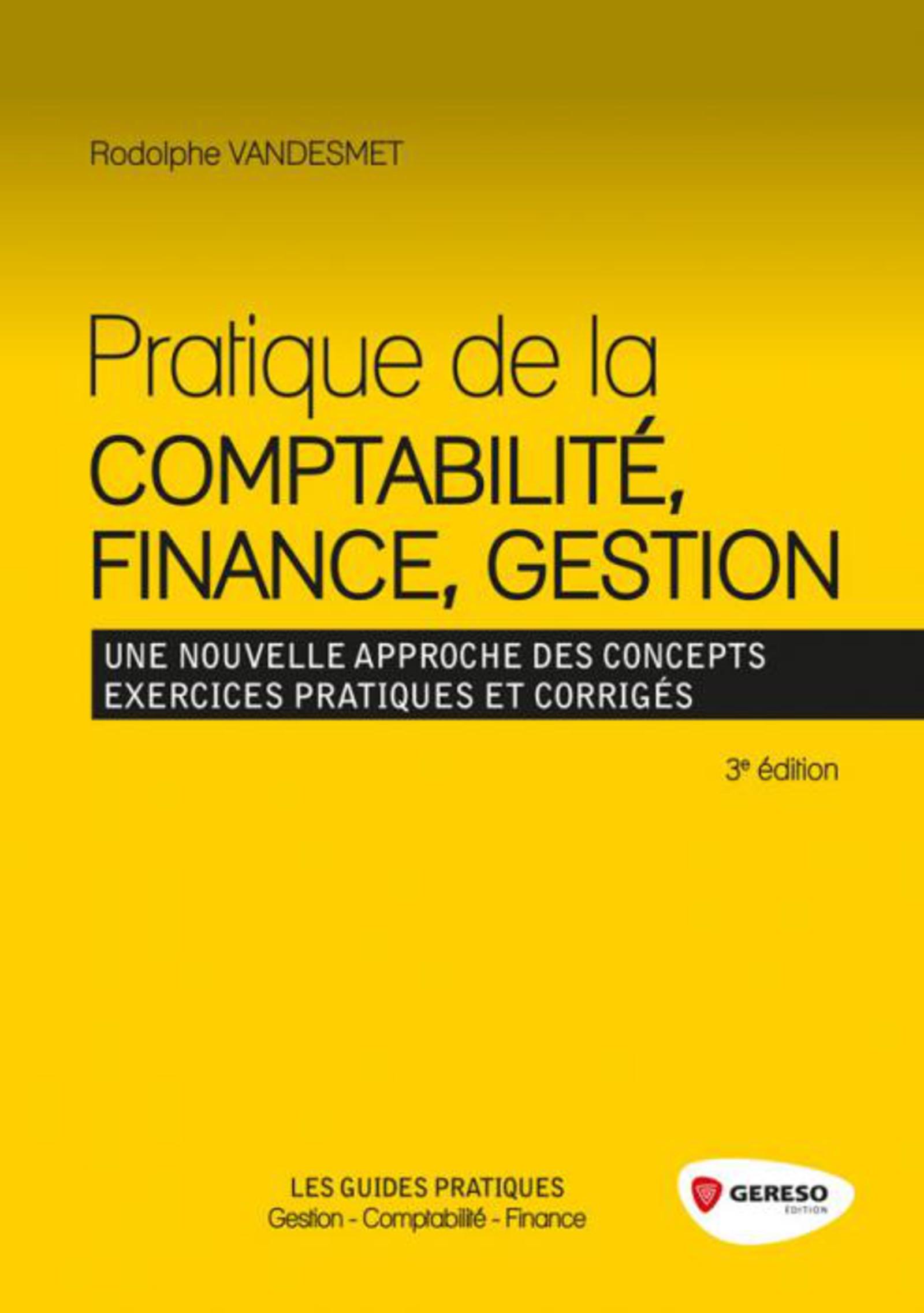 Vignette du livre Pratique de la comptabilité, finance, gestion