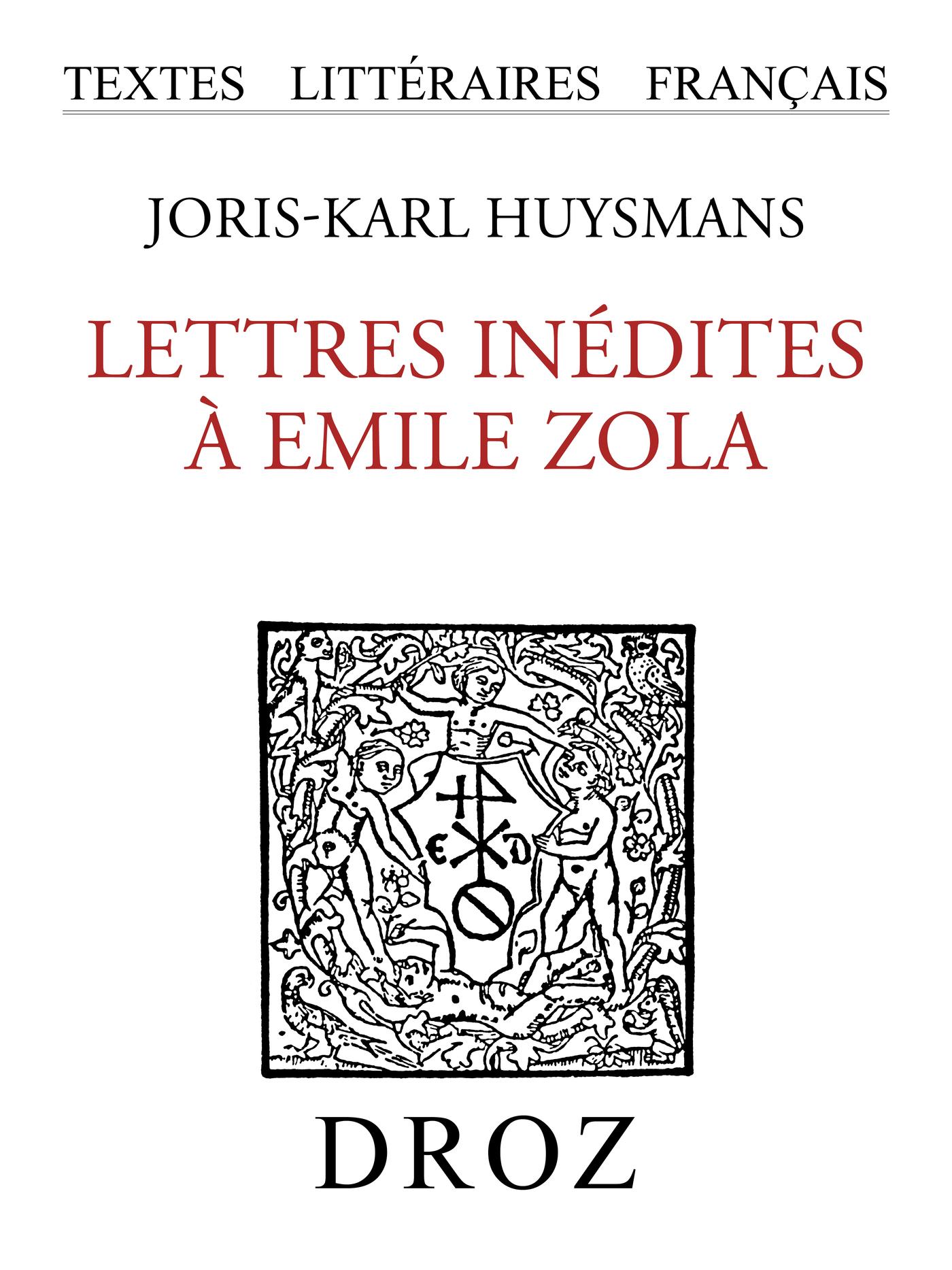 Vignette du livre Lettres inédites à Emile Zola