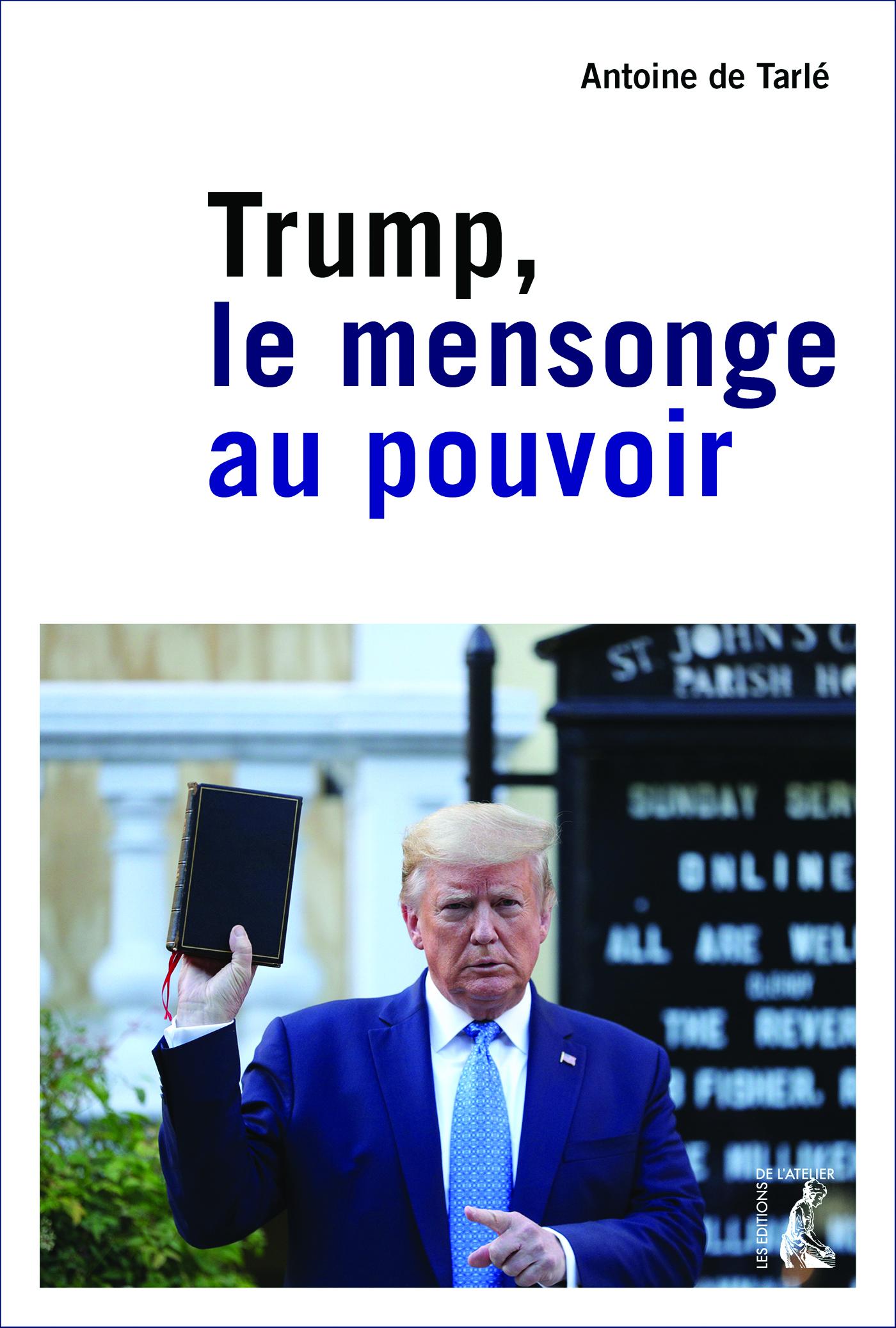 Vignette du livre Trump : le mensonge au pouvoir