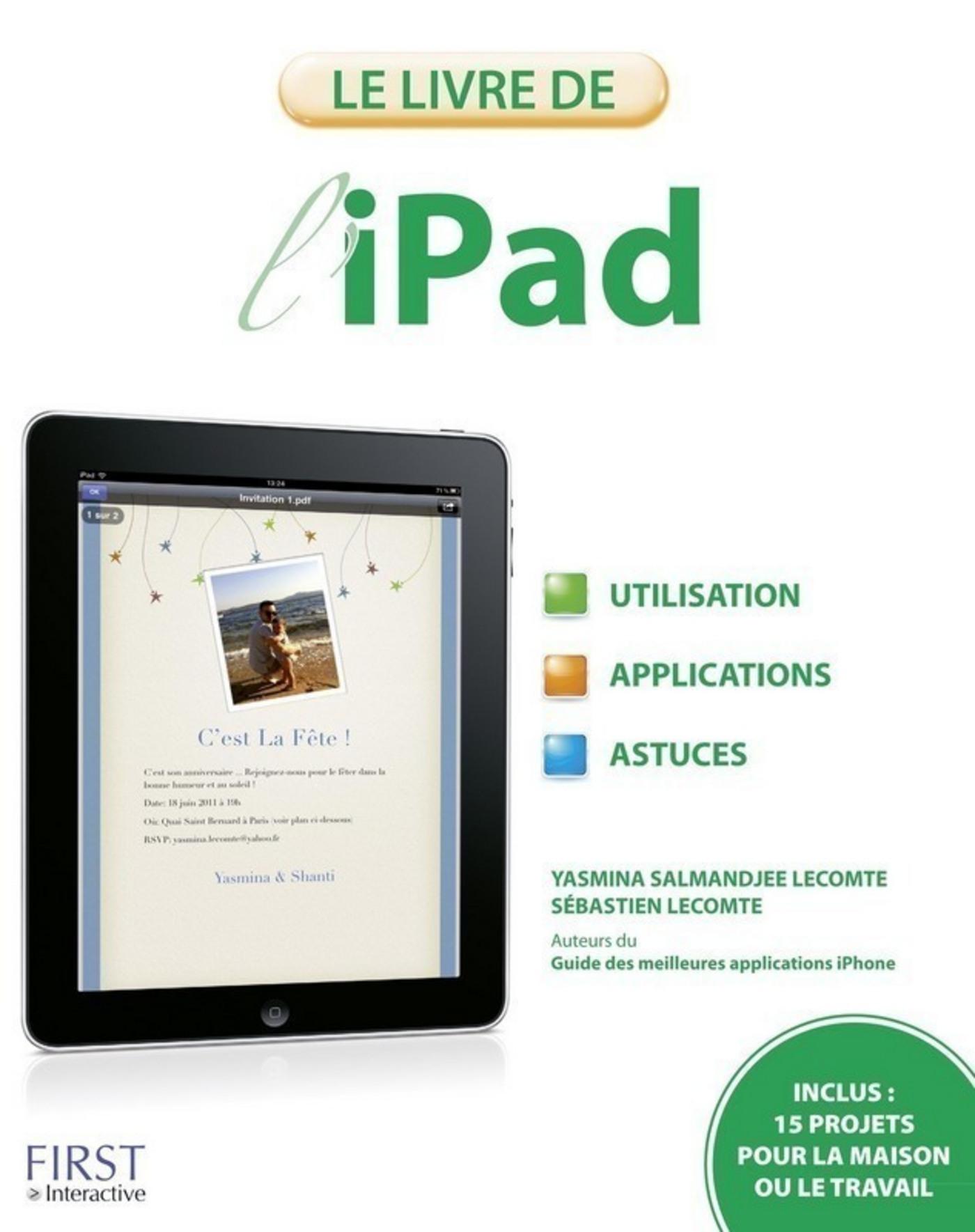 Vignette du livre Le livre de l'iPad
