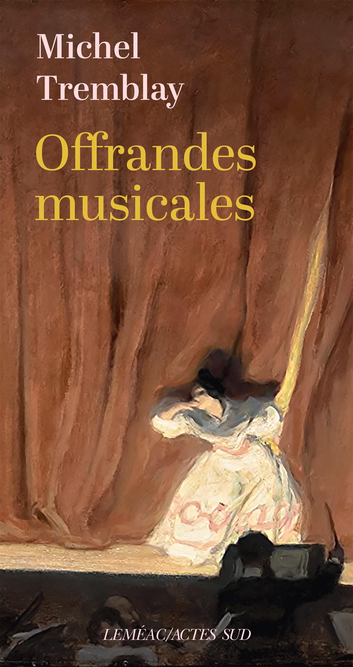Vignette du livre Offrandes musicales