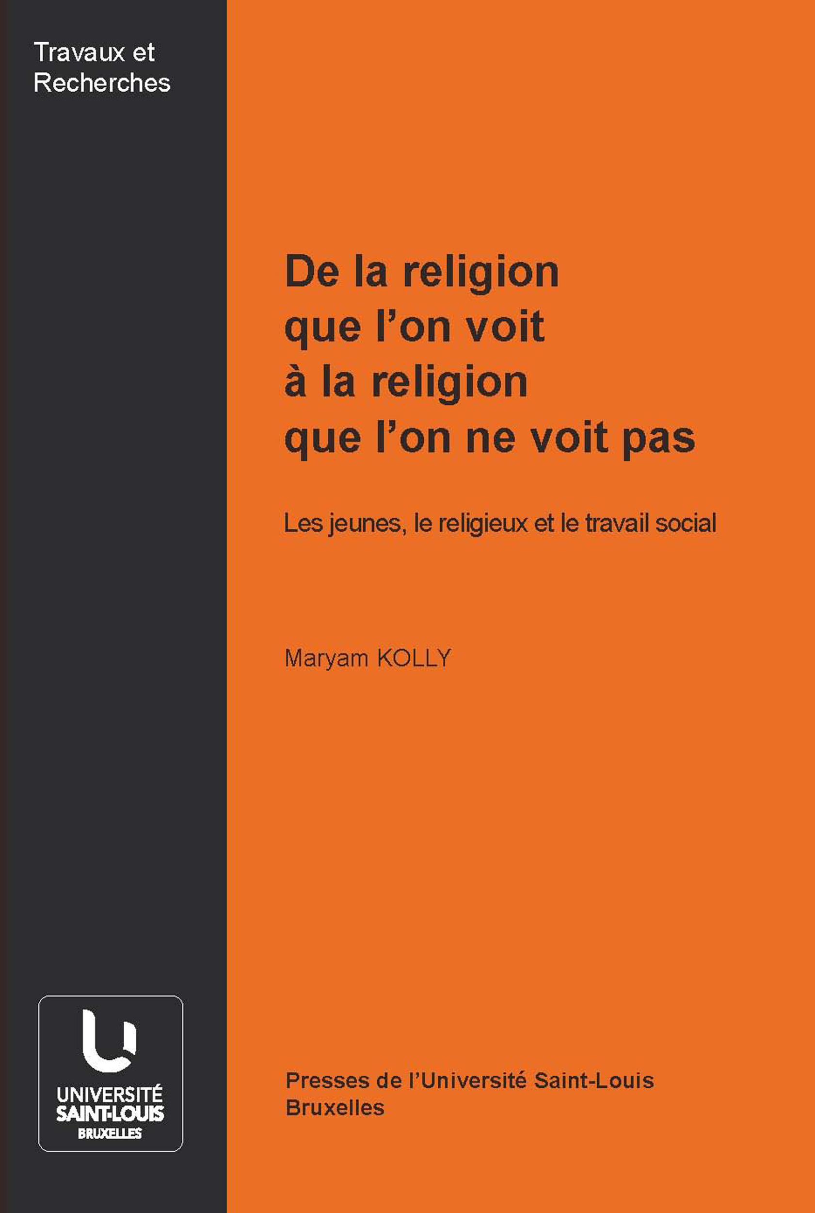 Vignette du livre De la religion que l'on voit à la religion que l'on ne voit pas