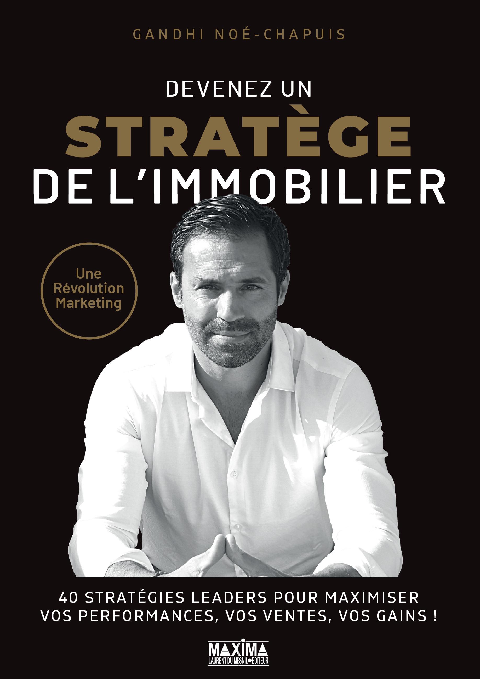 Vignette du livre Stratège immo : le guide commercial et marketing des...