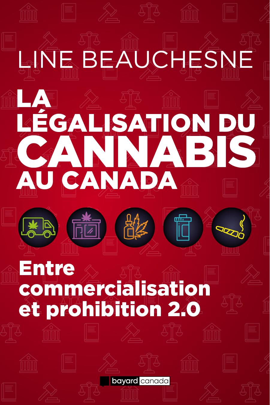 Vignette du livre La légalisation du cannabis au Canada
