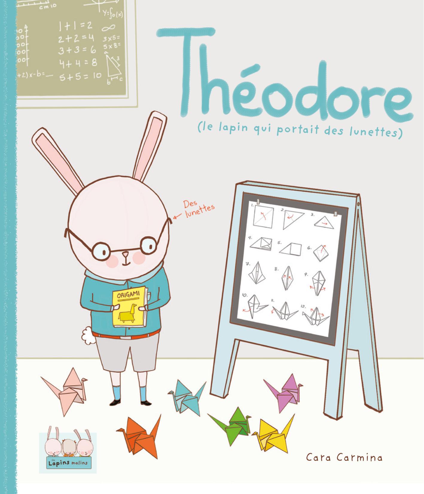 Vignette du livre Théodore (le lapin qui portait des lunettes) - Cara Carmina