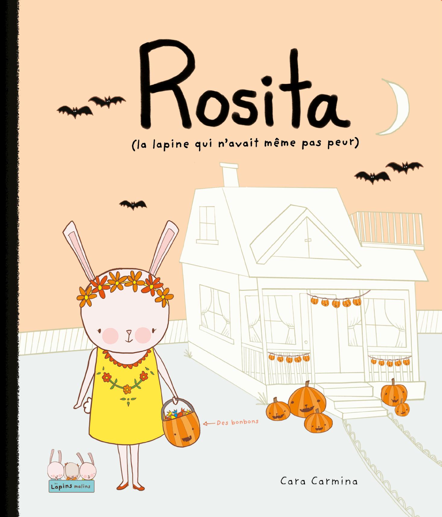 Vignette du livre Rosita (la lapine qui n'avait même pas peur)