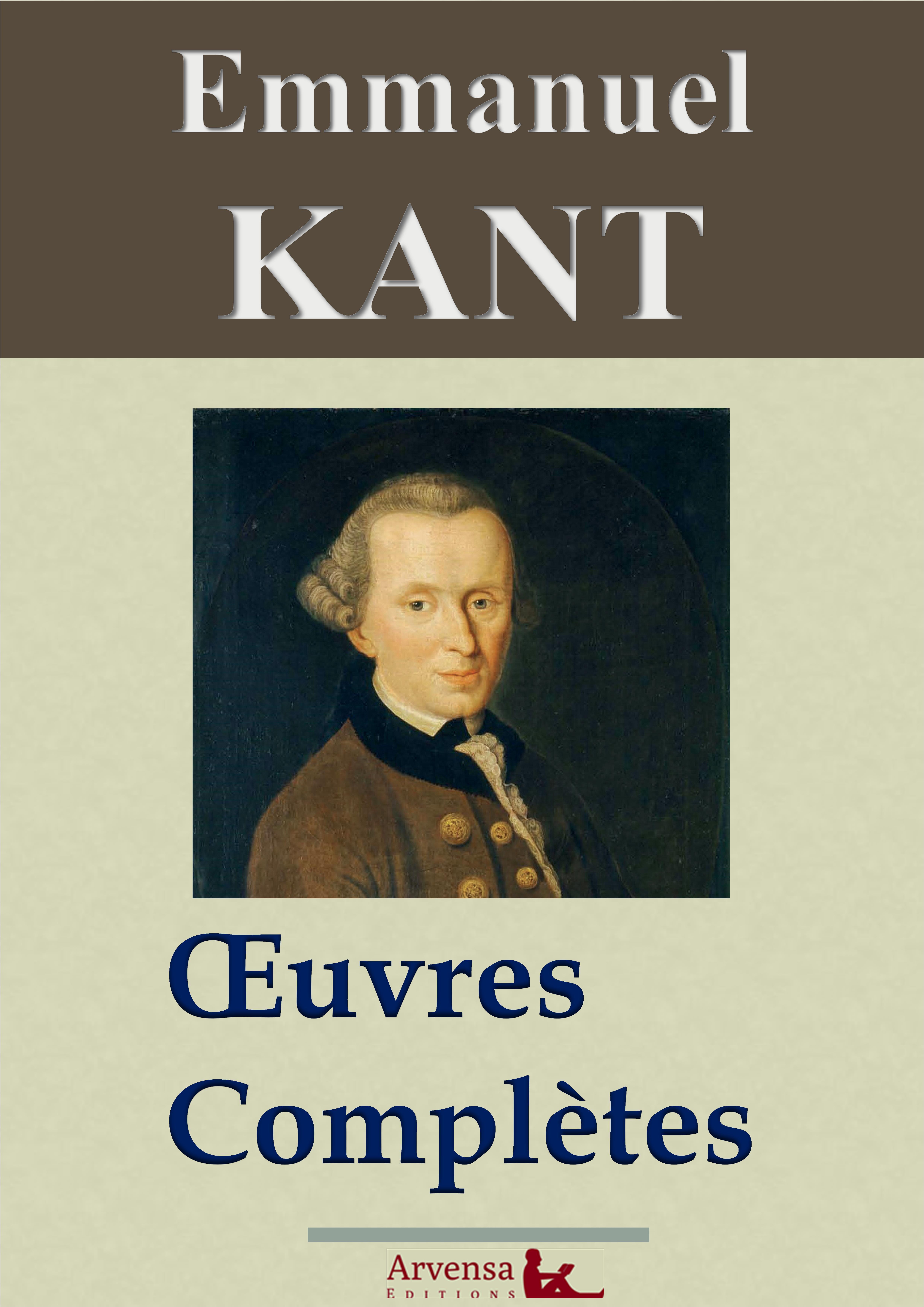 Vignette du livre Emmanuel Kant : Oeuvres complètes