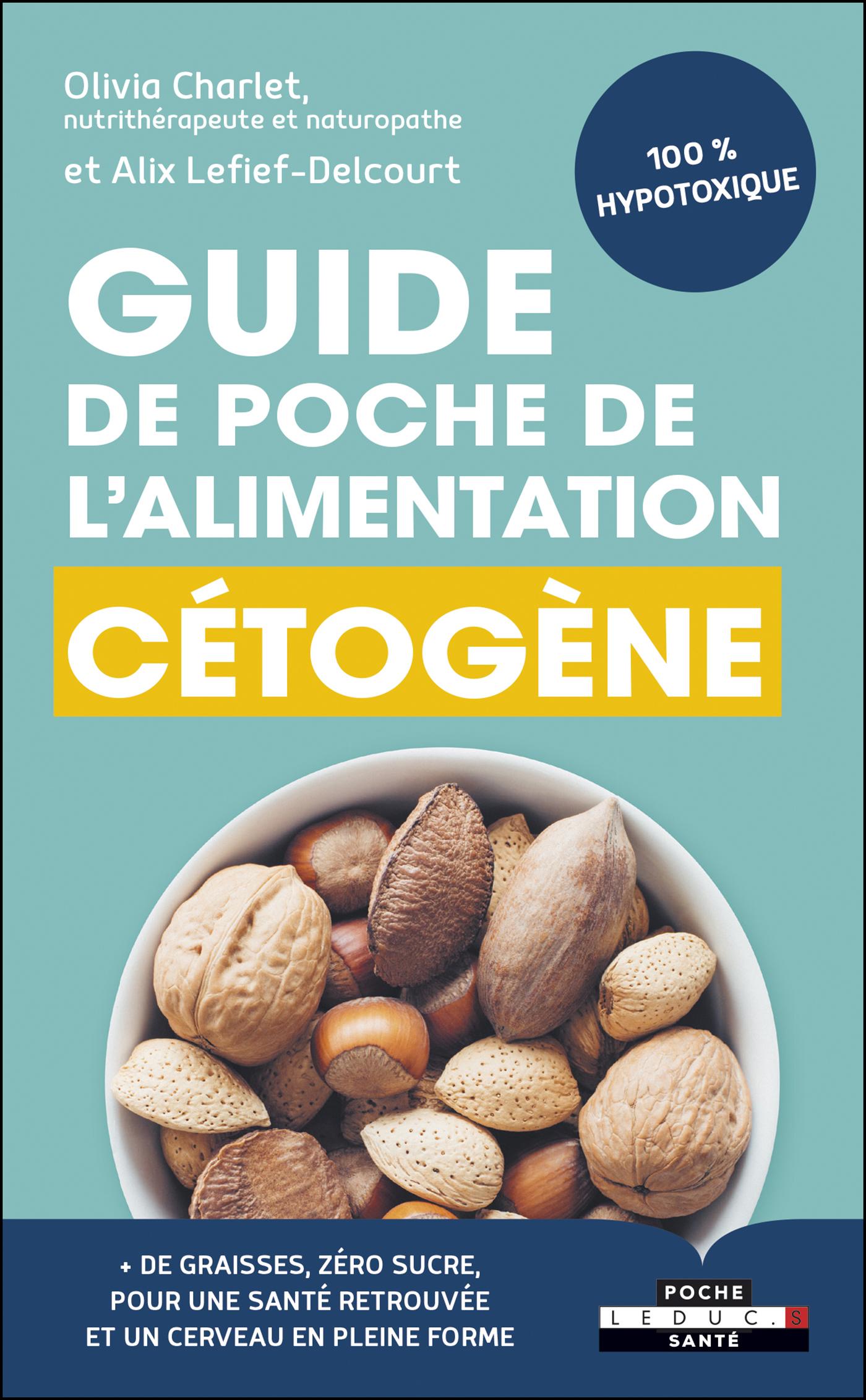 Vignette du livre Guide de poche de l'alimentation cétogène