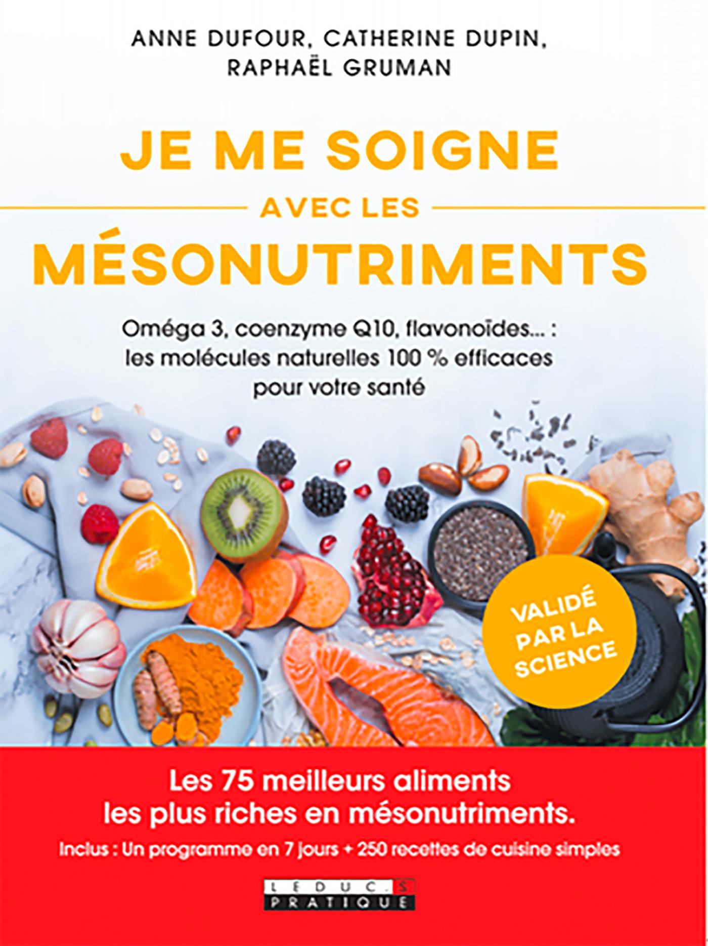 Vignette du livre Se soigner avec les mésonutriments : oméga 3, probiotiques...